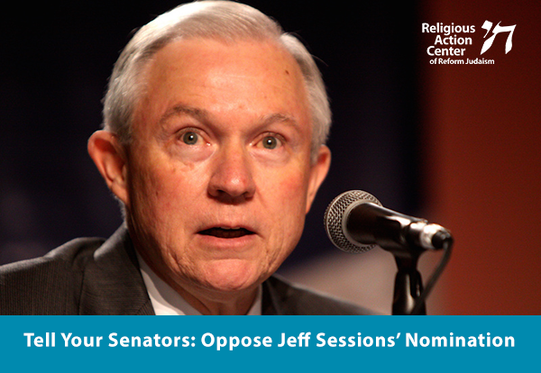 Tell your Senators: Oppose Jeff Sessions' Nomination
