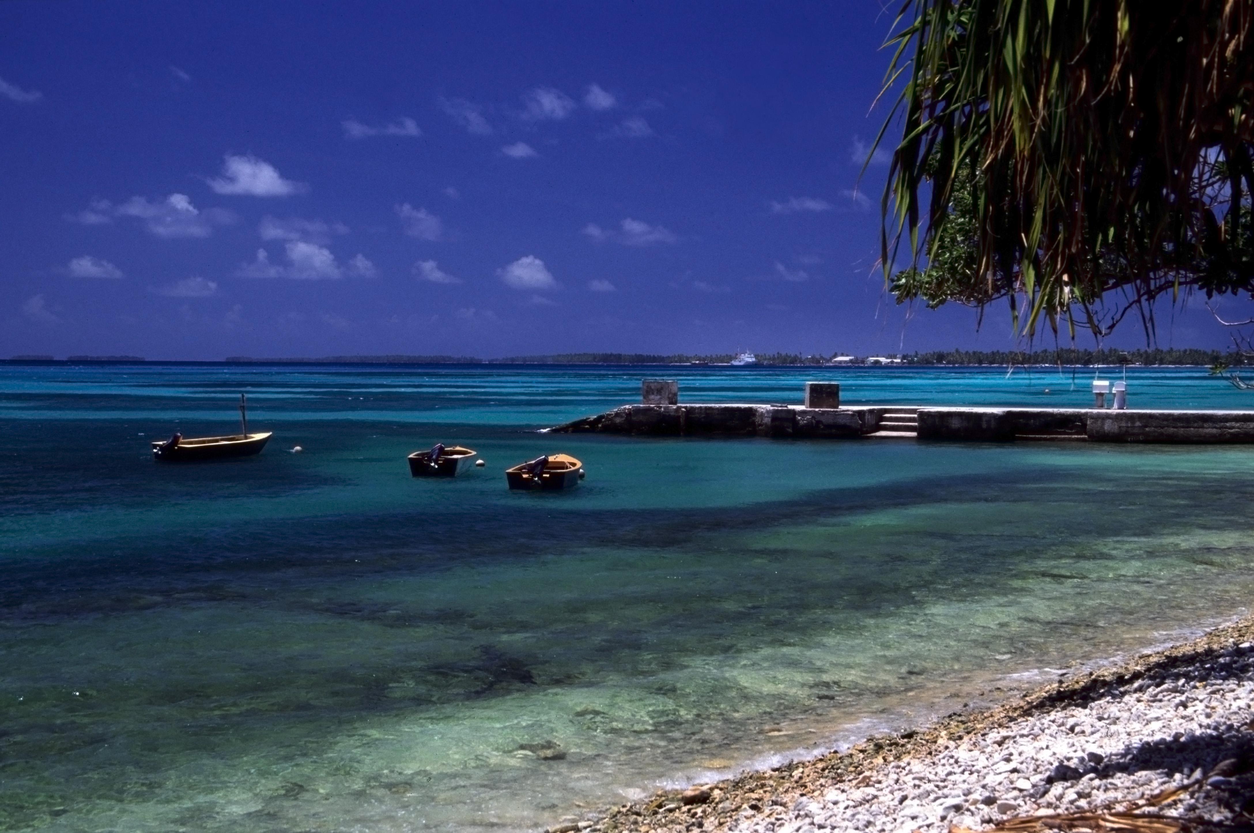 Funafuti Beach in Tuvalu