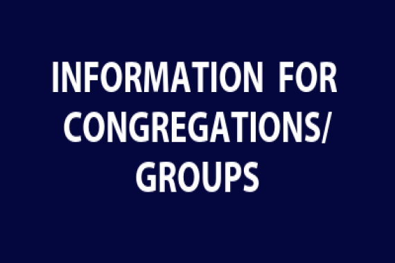 Information for Congregations or Groups